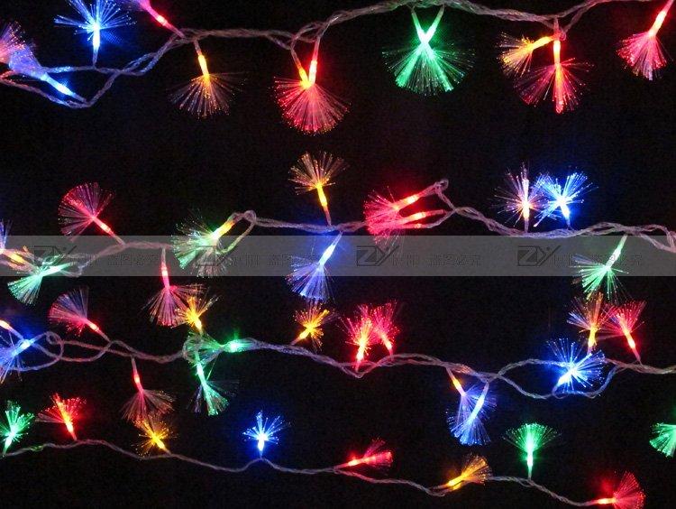 Free Shipping LED fiber optic lighting string christmas lights ...