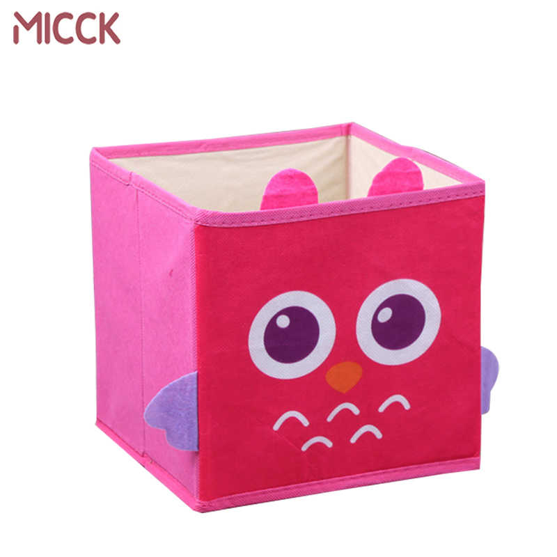 Detail Feedback Questions About Micck Folding Laundry Basket Cartoon Large Child Toy Clothes Storage Wardrobe Sundries Desktop