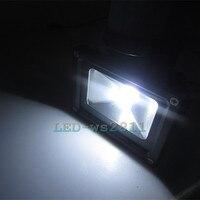 Miễn phí vận chuyển 10 w mát Warm trắng LED PIR Motion Sensor nhẹ lũ lụt IP65 chống spotlight AC85 ~ 265 V