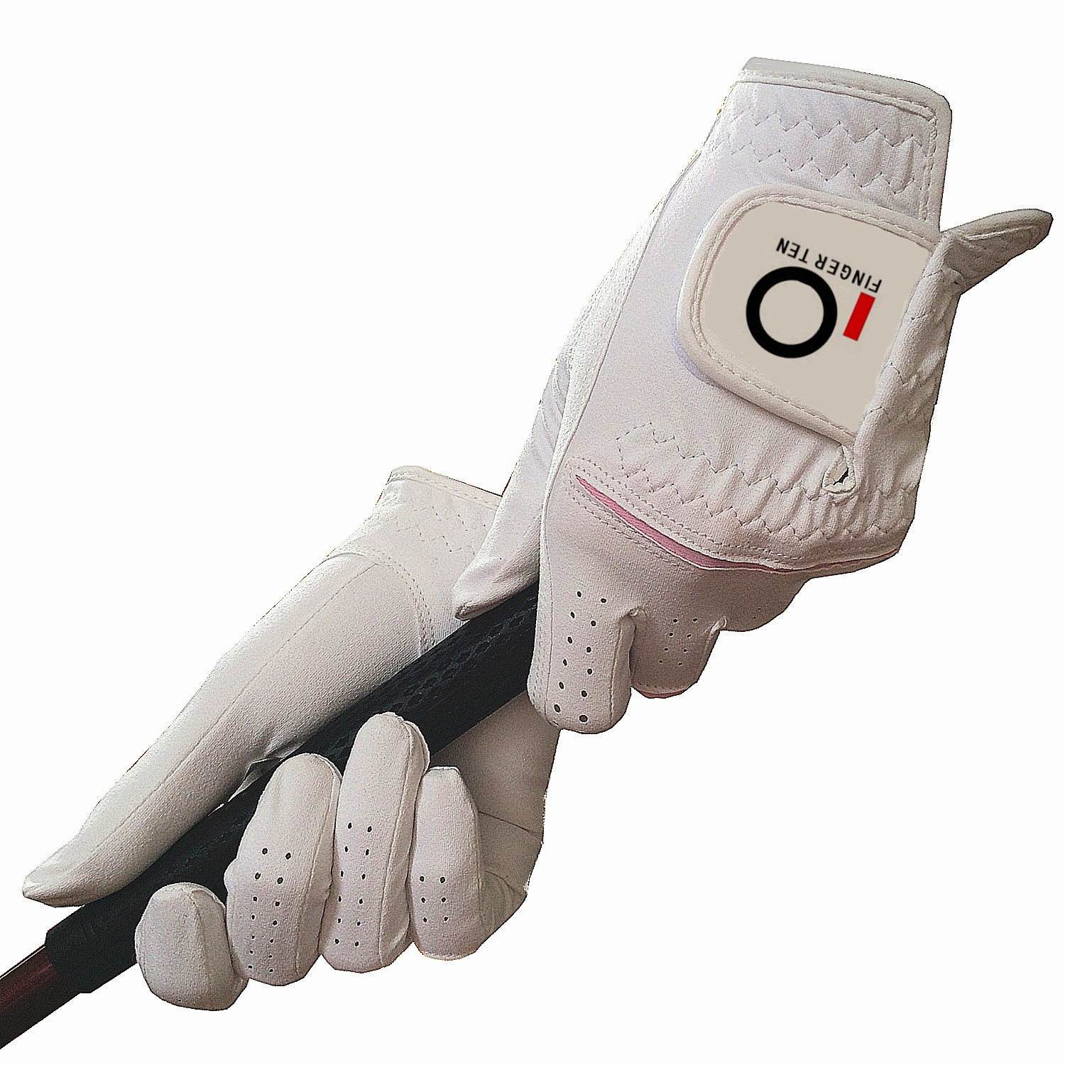 Womens Golf Gloves Pair Rain Hot Wet Weather Grip Value Pack, Ladies Left and Right Hand Small Large Medium Pr Finger Ten