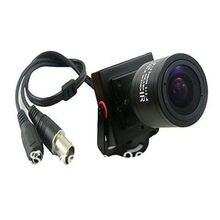 50pcs/lot Mini HD 750TVL CMOS 2.8-12mm Manual Focus Zoom Lens CCTV Security Color Camera