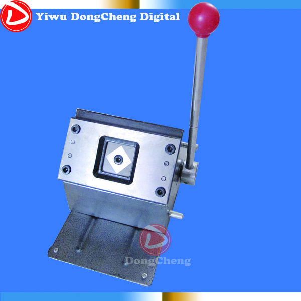 ФОТО 32mm square Badge cutter ,Square cutting size 42*42mm, for making  32*32mm  square Pin badges