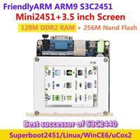 FriendlyARM ARM9 Nachfolger der S3C2440 MINI2451 + 3,5 zoll LCD, 128 Mt Ram 256 Mt Nand Flash, S3C2451 Entwicklungsboard Linux Wince6