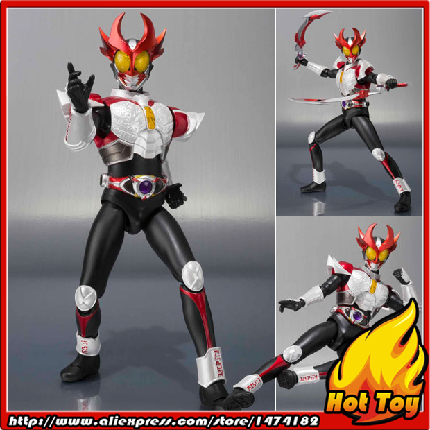 100% Original BANDAI Tamashii Nations S.H.Figuarts (SHF) Action Figure - Agito (Shining Form) from Masked Rider Agito