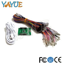 Gain Arcade to USB Controller Interface 2 Player MAME Multicade PC Keyboard Encoder for Jamma Raspberry Pi,PS3,PC save