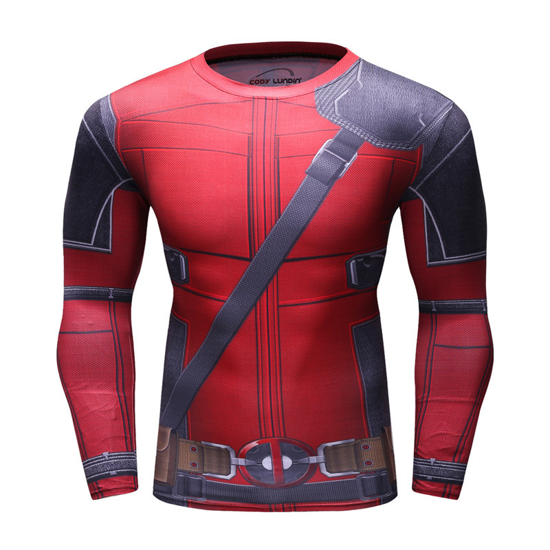 Mens-Compression-T-shirts-Bodybuilding-Skin-Tight-Long-Sleeves-Jerseys-Clothings-3D-Printing-Exercise-Workout-Fitness