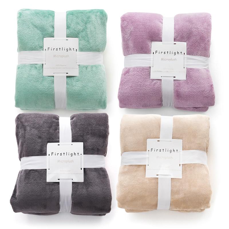 פלנל פליז לזרוק שמיכה חמה רכה Manta Cobertor - טקסטיל בית