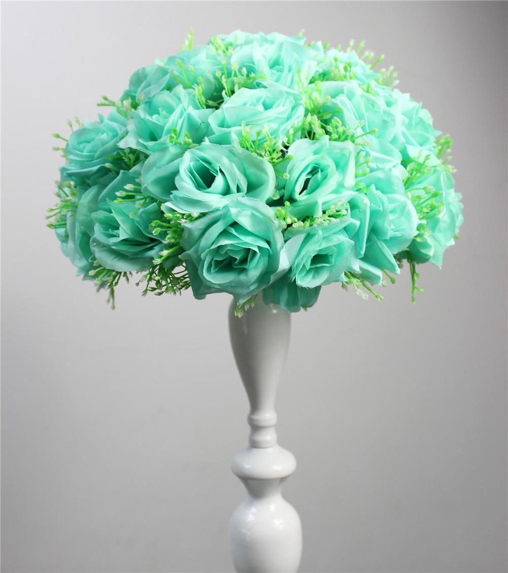 Artificial flower tiffany blue 15cm10pcs wedding kissing flower artificial flower tiffany blue 15cm10pcs wedding kissing flower ball party decoraion hotel arcade ornaments izmirmasajfo