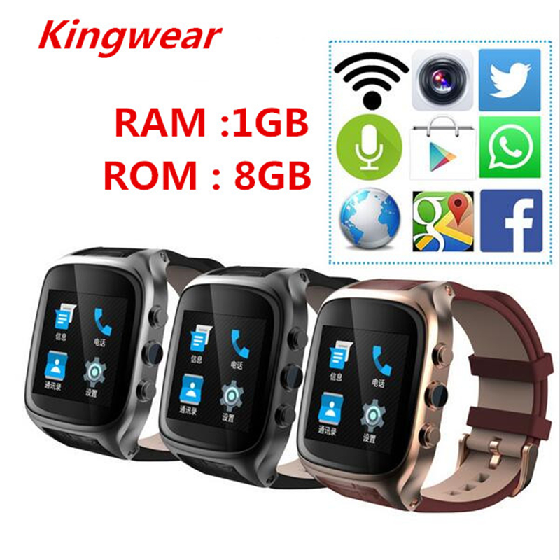 (HOT SALE!) X01S Smart watch Android 5.1 1.54 inch 3G Smartwatch Phone MTK6572 1.3GHz Dual Core Waterproof GPS Gravity Pedometer