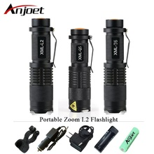 high quality Mini zoom flashlight led torch cree xml t6 l2 q5 waterproof lanterna rechargeable light ues 18650 or 14500 penlight panyue 2 packs xml t6 cob led mini pocket flashlight work light penlight torch lamp high 1000lumens 6 modes camping lanterna