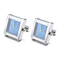 Jin & Ju חם למכור עיצוב שעון אדון תכשיטי חפתים חפתים שעון אמיתי עבור Mens שעון פונקציונלי