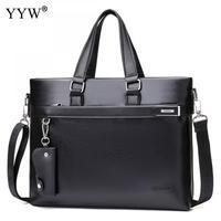 Wholesale Malette Cuir Homme Famous Business Men Briefcase Bag Luxury Leather Laptop Executive Bag Man Shoulder Bag Bolsa Maleta