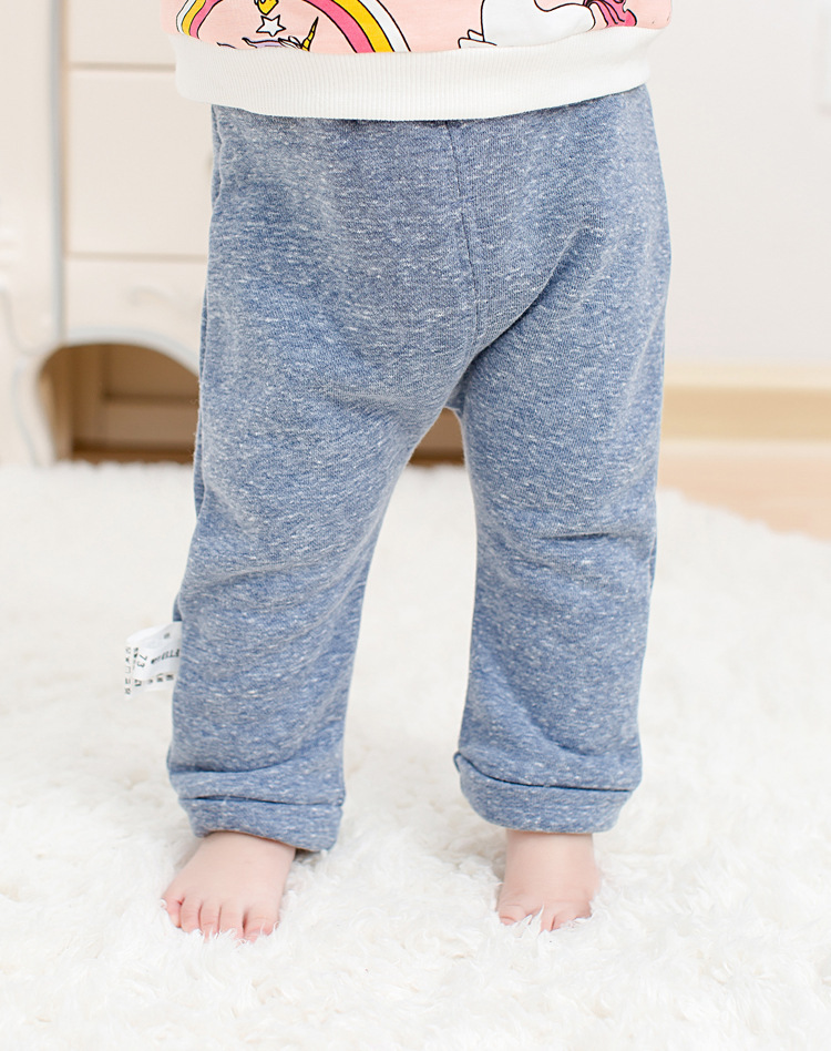 2017 spring new arrival cute Infant Baby Boys Girls back cartoon Bottom Harem Pants Leggings Pants Trousers for 0-24M drop ship (1)
