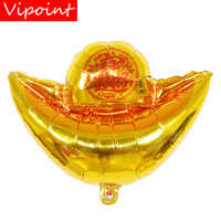VIPOINT PARTY 45*48cm gold ingot chinese money foil balloons wedding event christmas halloween festival birthday party HY-83