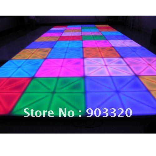 Jump Price fo Xmas HOT1M 1M DMX512 LED Dance Floor for Wedding Party Karaoke DJ Nightclub