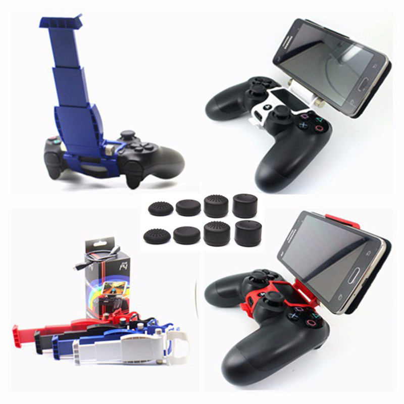 PS4 Controller Accessories Clamp Cell Phone Smart Clip Holder Handle Bracket Support Stand For Playstation 4 PS4 Slim PS4 Pro