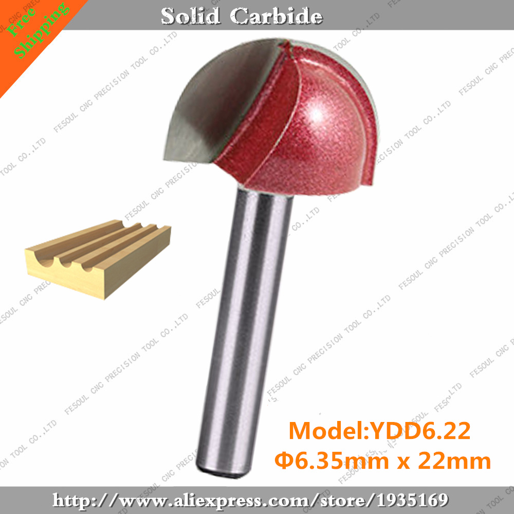 """Round Nose 22mm 7//8/"""" Engraving Woodworking Cutter Cutting 3D Router Drill Bit"""