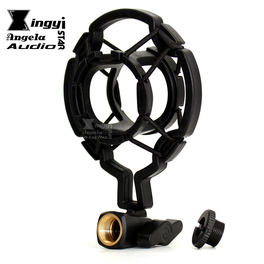 Unterhaltungselektronik Professionellen Kapazität Mic Shock Mount Clip Halter Stehen Radio Studio Für 30 ~ 33mm Mikrofon