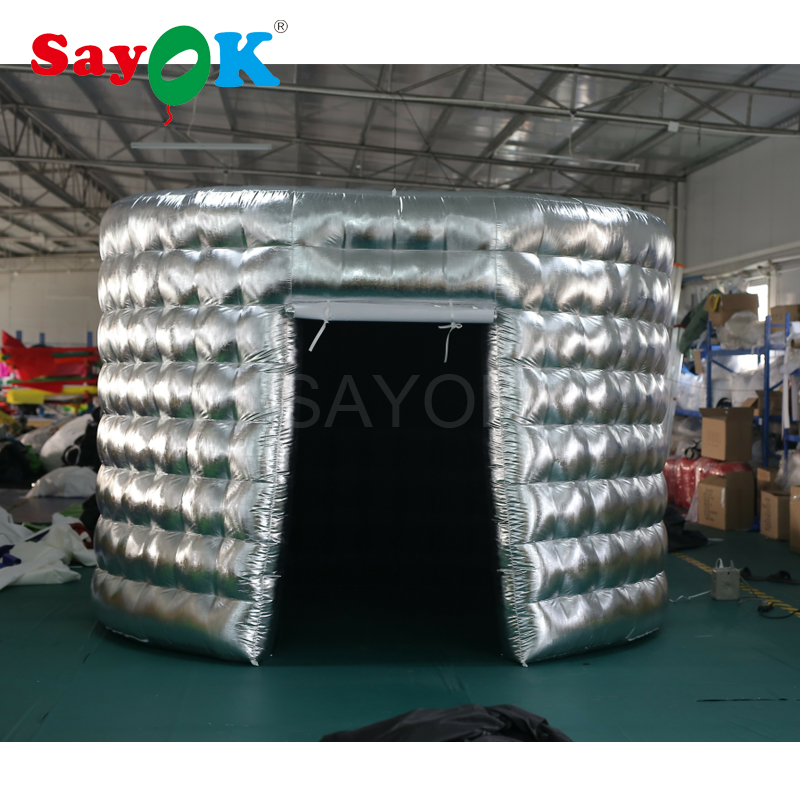 Oval Inflatable Photo Booth Enclosure Inflatable Photo Booth Tent for Party Events