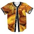Platanos Jersey camisa con botones camisa de Los Hombres 3d animal con camisa Casual Streetwear camisa overshirt trajes divertidos