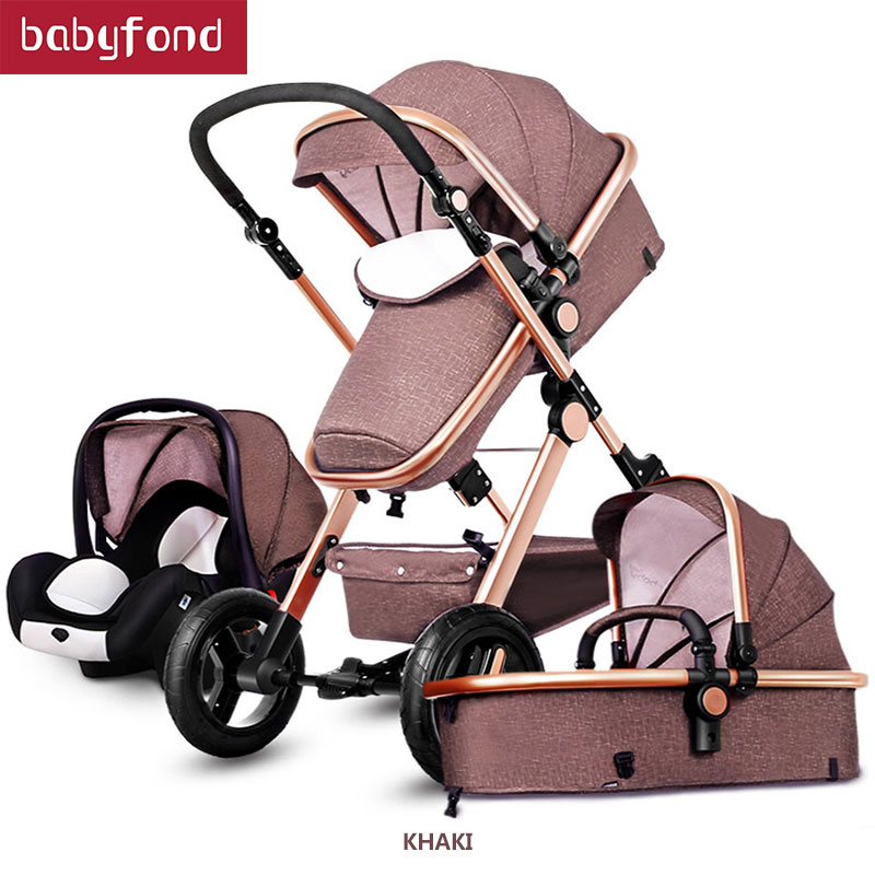 New Arrival Brand baby strollers 3 in 1 baby carriage super light baby strollers EU standard 3 in 1 baby strollers цены