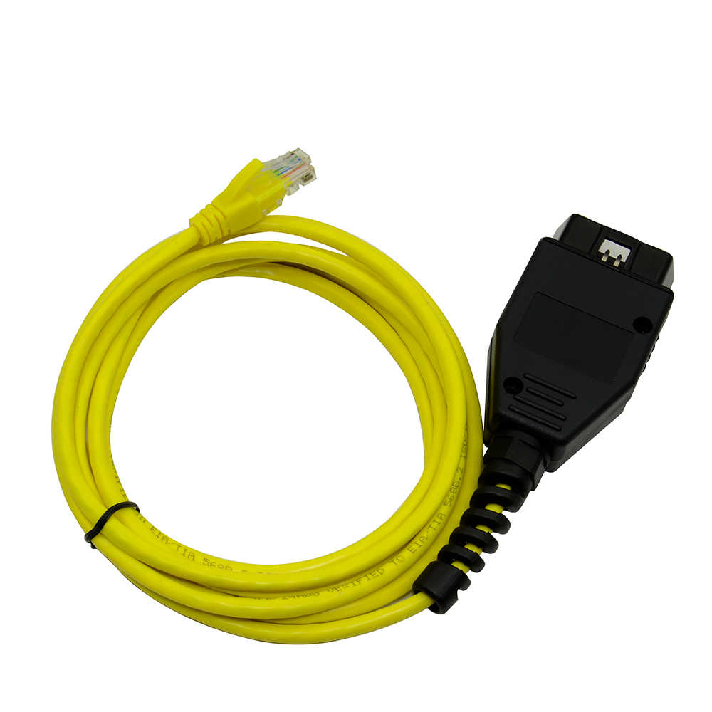 Câble de données ESYS pour BMW ENET Ethernet | Vers Interface OBD, codage d'icom pour câble de Diagnostic f-serie, nouvelle collection 2018