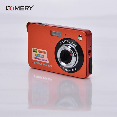 Genuine Komery Original k9 Camera 3.5 inch LCD 1800w Pixel 4X Digital Zoom Time-lapse Photography Camcorders Three-year warranty Lahore