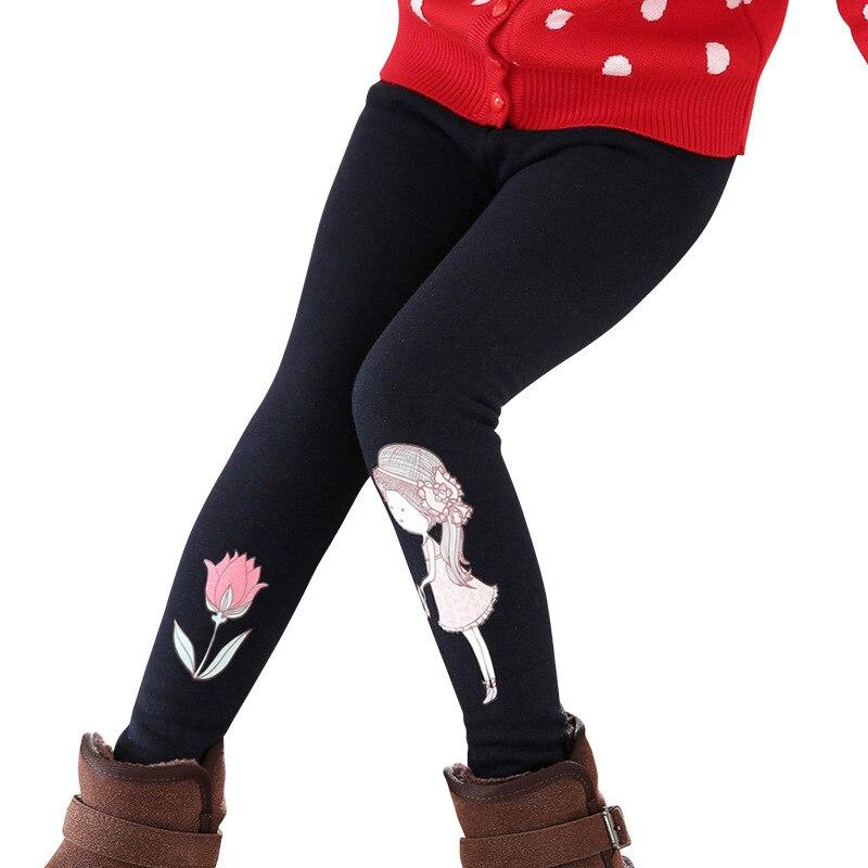 animados roupas magras inverno legging menina 4 14 anos 03