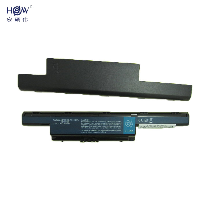 HSW laptop batteri för ACER AS10D31 AS10D51 AS10D81 AS10D75 AS10D61 - Laptop-tillbehör - Foto 6