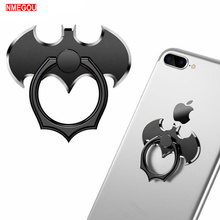 Batman Metal Mobile Ring Grip Finger Holder Phone Case for IPhone X XR XS Max 8