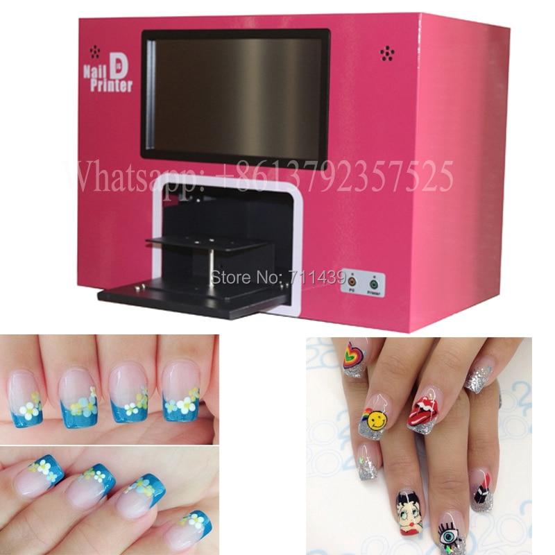 Bunga printer Gratis pengiriman layar terjamah membangun di dalam - Nail art - Foto 4