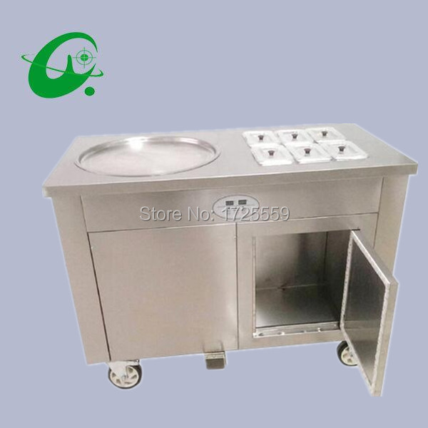 45cm single pan fried ice cream rolled machine thailand Flat fry Fried Ice Cream roll Machine With 6 Cooling Storage Barrel krishen kumar bamzai and vishal singh perovskite ceramics preparation characterization and properties
