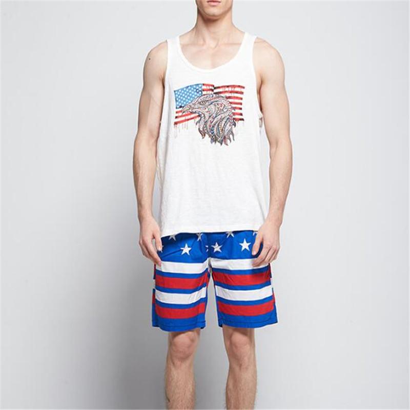 Topdudes.com - Men's High Quality Cotton Quick-Dry Loose Beach Short Pants