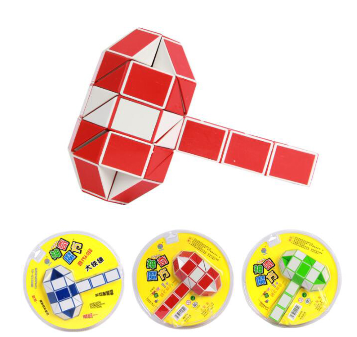 Bright Creative Changeable Magic Ruler Twist Snake Puzzle Cube Educational Toys 5-8 Yrs Old Puzzles & Games