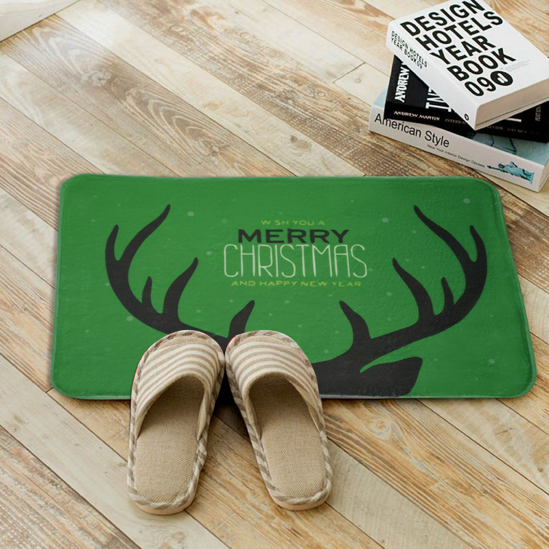 new simple christmas mats absorbent nonslip bathroom carpet living room area rug anti - Bathroom Carpet