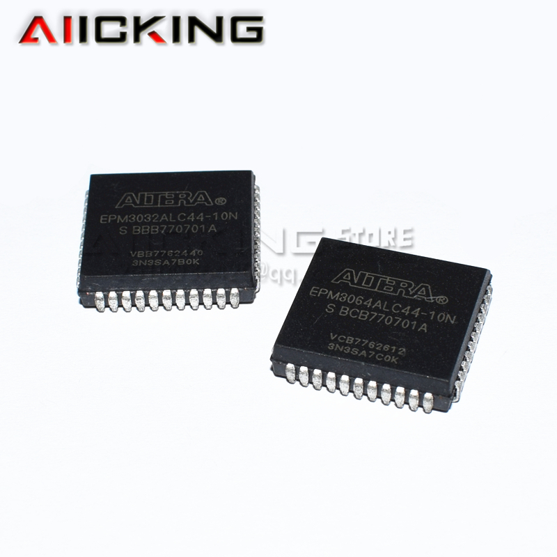 5/PCS EPM3064ALC44-10N EPM3064ALC44 PLCC44  Integrated IC Chip New Original
