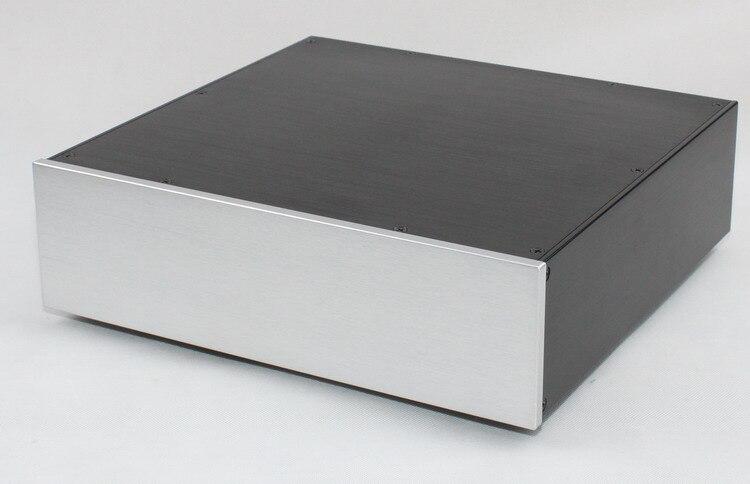 Tüketici Elektroniği'ten Amplifikatör'de WA101 Tam alüminyum amplifikatör şasi/Preamplifier/AMP Muhafaza/kutu/kutu title=