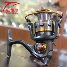 DK 1000-6000 11 Ball Bearings Metal Coil Spinning Reel 5.2:1 Carp Fishing Reel Exchangable Spinning Reel Handle Reel Fish Wheel