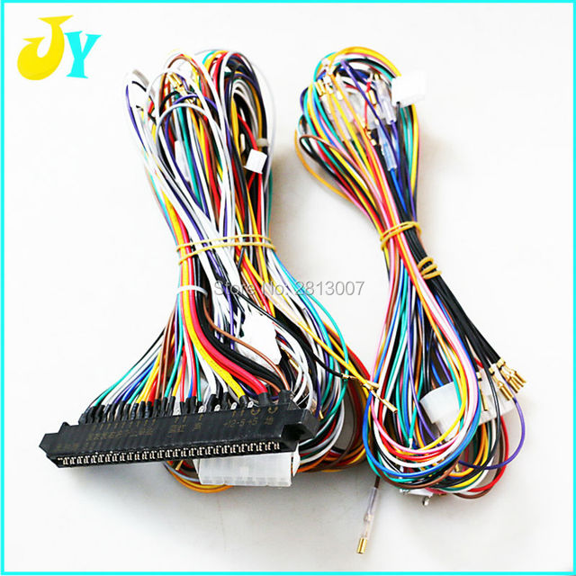 Remarkable Jamma Wire Harness 28Pin Jamma Loom Connection To Sanwa Jlf Tp 8Y Wiring Database Ioscogelartorg
