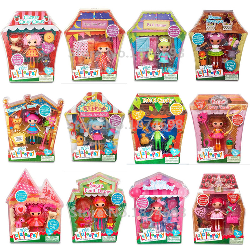 New Toys Mini Lalaloopsy Doll Collection Fashion Figure Toy Dolls For Kids Girls Christmas Gifts