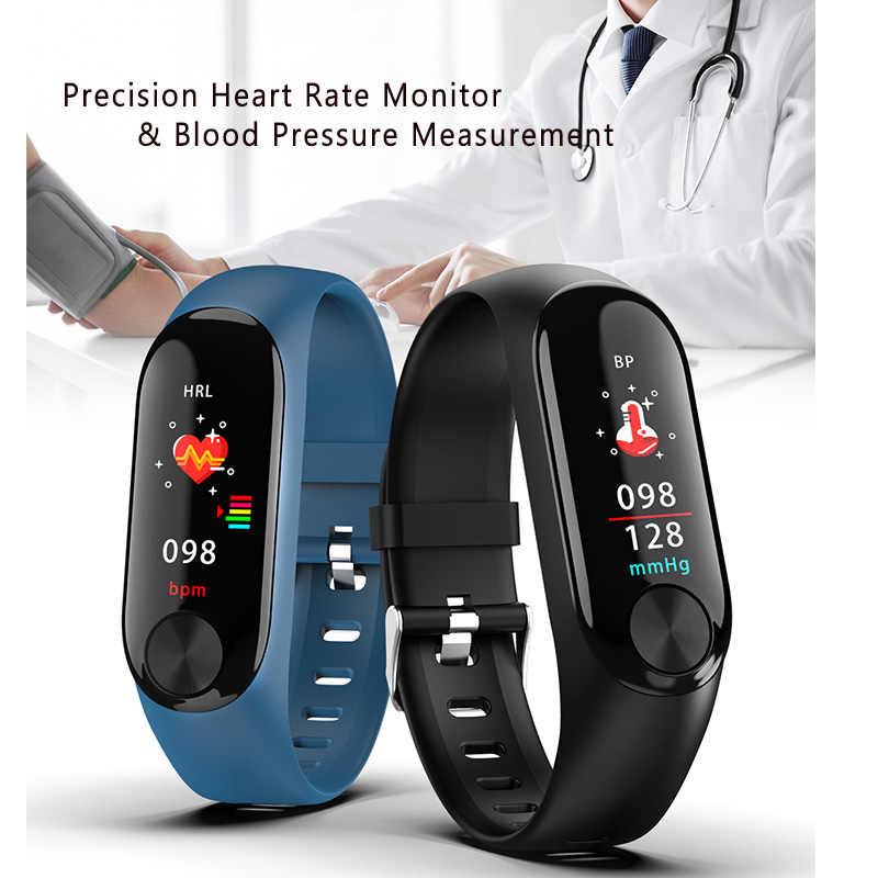 Reloj Inteligente mujeres hombres Relogio femenino deporte señoras reloj Inteligente Hombre presión podómetro de relojes mujer
