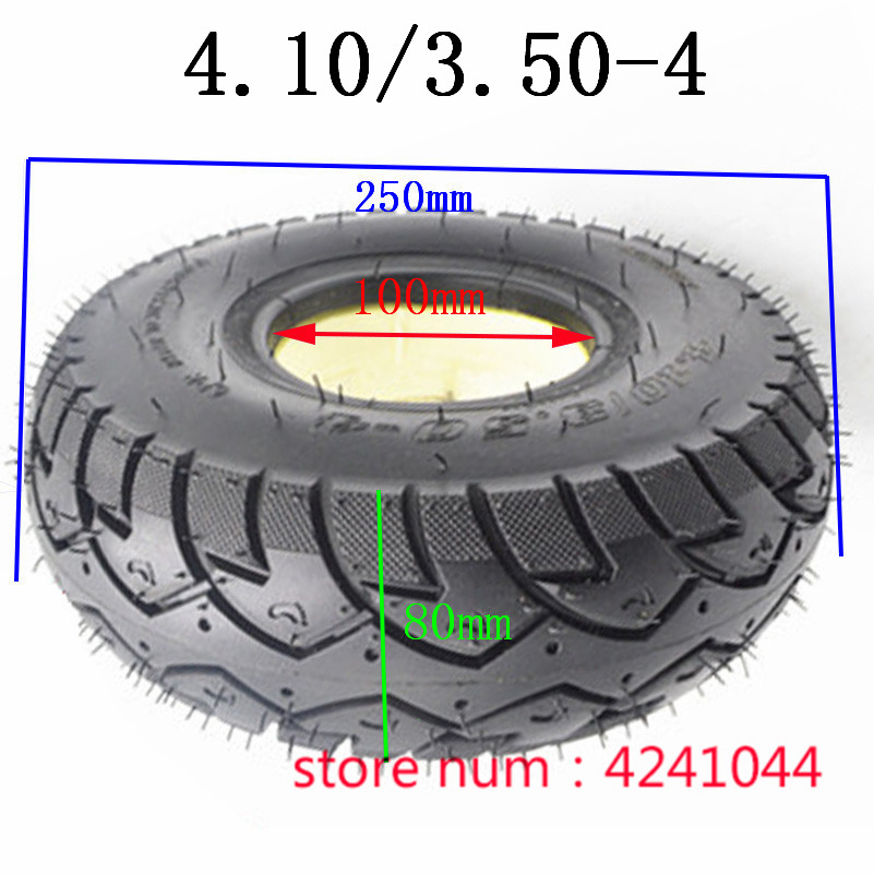 4.10/3.50-4 Solid Tire 4.10-4 3.50-4 Explosion-proof  Tyre For 3wheel Scooter,electric Bicycle,electric Scooter,Warehouse Cart