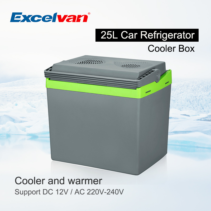 25L Portable Refrigerator Thermoelectric Fridge 12V Cooler ...