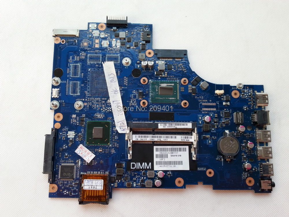 Laptop Motherboard DELL 3721 5721 Mainboard i5 CPU LA-9102P Fully Tested Good Condition - Shenzhen Huasheng Parts store