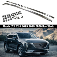 For Mazda CX9 CX 9 2018 2019 2020 Roof Rack Rails Bar Luggage Carrier Bars top Racks Rail Boxes Aluminum alloy