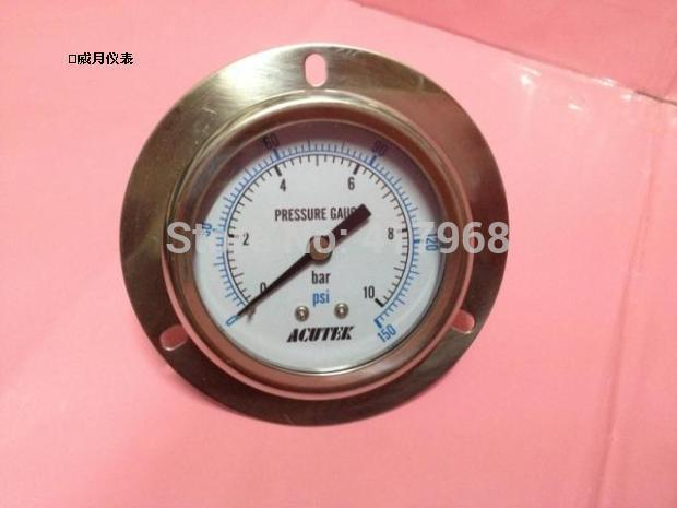 ФОТО ACUTEK pressure gauge Y60BF-ZT 10bar NPT1/4