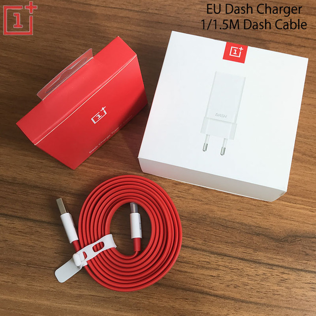 US $12 73 9% OFF|Original Oneplus 6T Fast Dash Charger 5V 4A USB EU Charge  Adapter 1M/1 5M Flat Data TYPE C Dash Cable For Oneplus 3 3T 5 5T 6 6T-in