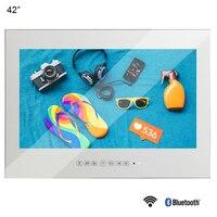 Souria 42 1080HD Full Vanishing Television Magic Mirror LED TV WiFi Android 9.0 Big Screen Bathroom Waterproof TV