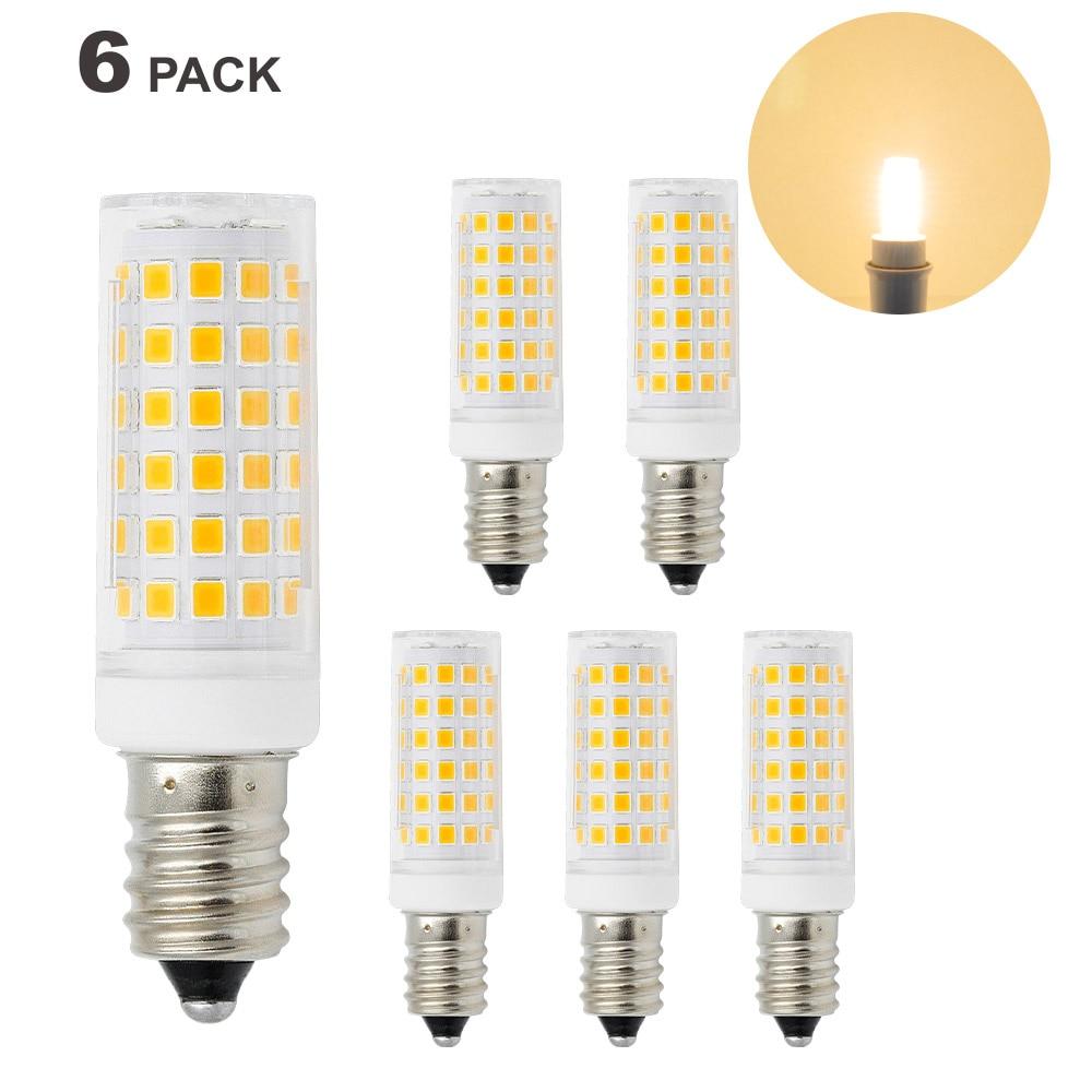 11W 1000Lm E12 E14 SES LED Small Capsule Light Bulbs Mini Corn Light Bulbs Warm White 3000K AC110-120V AC220-240V