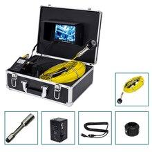 Заводская цена 23 мм камера головка 7 дюймов монитор 20 м кабель канализационная труба Инспекционная камера система используется для подземная Труба инспекции